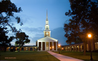 New Orleans Seminary Chapel with the steeple